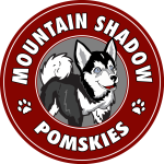 Mountain Shadow Pomskies Logo
