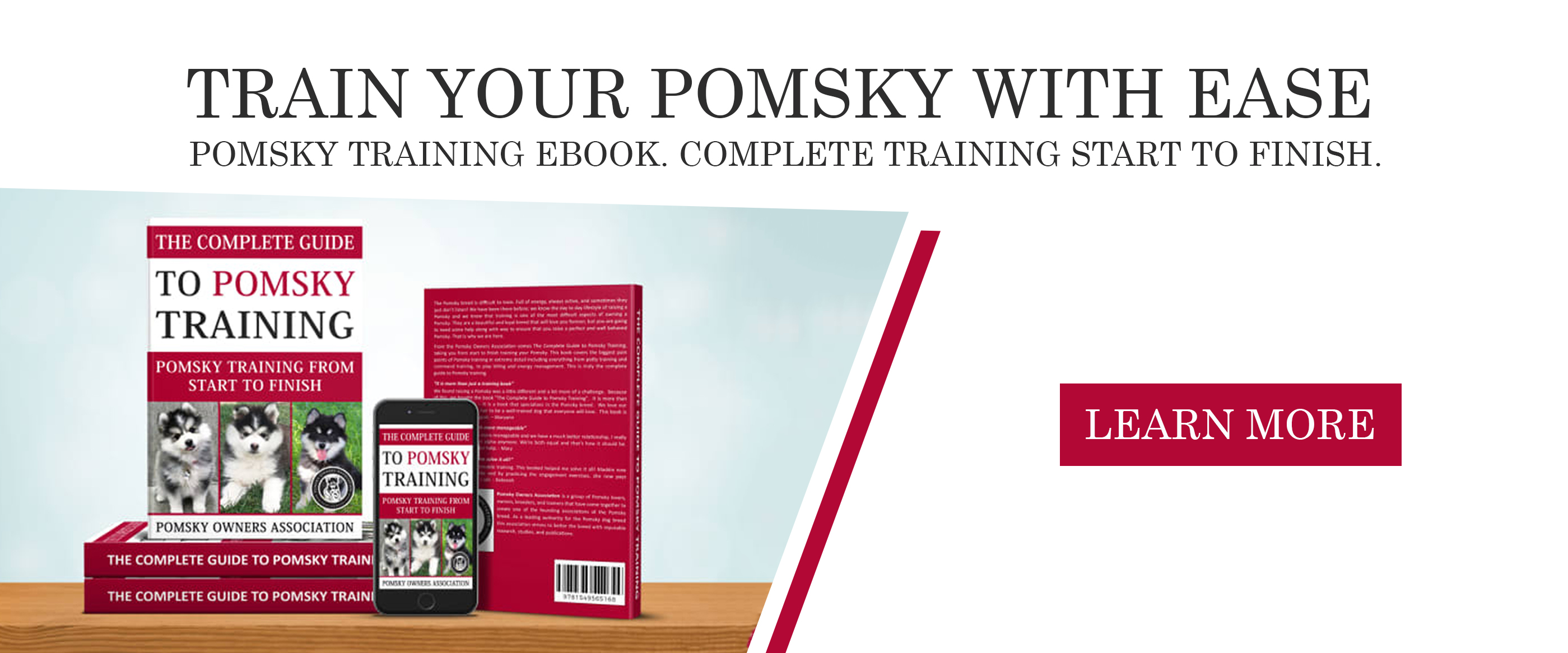 Pomsky training eBook for sale